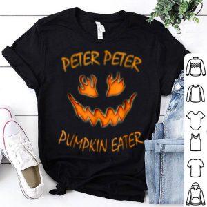 Official Peter Peter Pumpkin Eater Halloween Couples Costume shirt