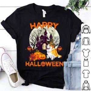 Original Pumpkin Welsh Corgi Happy Halloween Dog Gift shirt