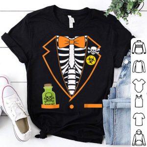 Original Skeleton Tuxedo Spooky Funny Halloween shirt