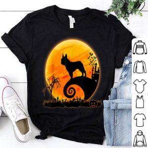 Premium French Bulldog Dog And Moon Funny Halloween Costume Gift shirt