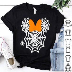 Premium Funny Mouse Halloweens With Bow And Spider shirt