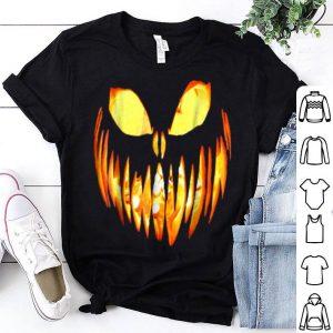 Premium Halloween Jack O' Lantern Scary Pumpkin Face shirt