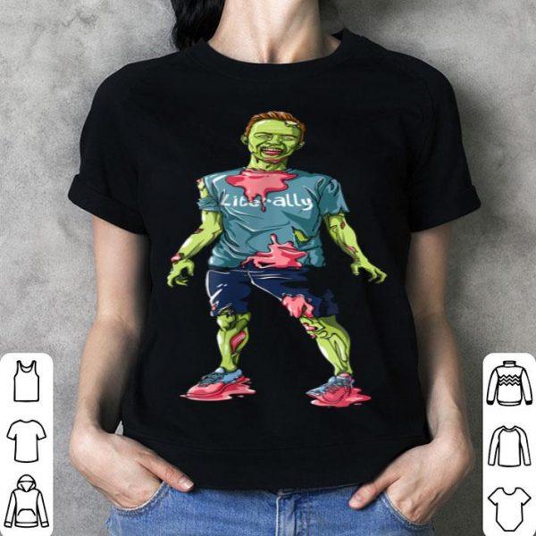 Ryland Adams Literally Halloween Zombie shirt