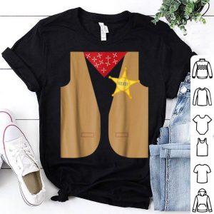Awesome Western Sheriff Costume - Easy Halloween Costume Idea shirt
