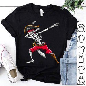 Beautiful Dabbing Skeleton Pirate Kids Boys Halloween Gift Dab shirt