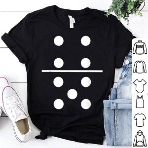 Beautiful Domino 4 and 5 Matching Halloween Group Costumes 4-5 shirt