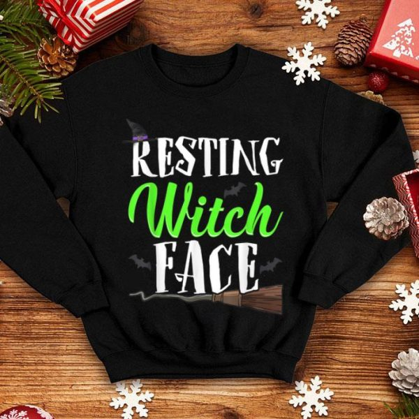Beautiful Resting Witch Face Witches Funny Halloween shirt