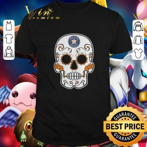 Cool Sugar Skull Houston Astros shirt