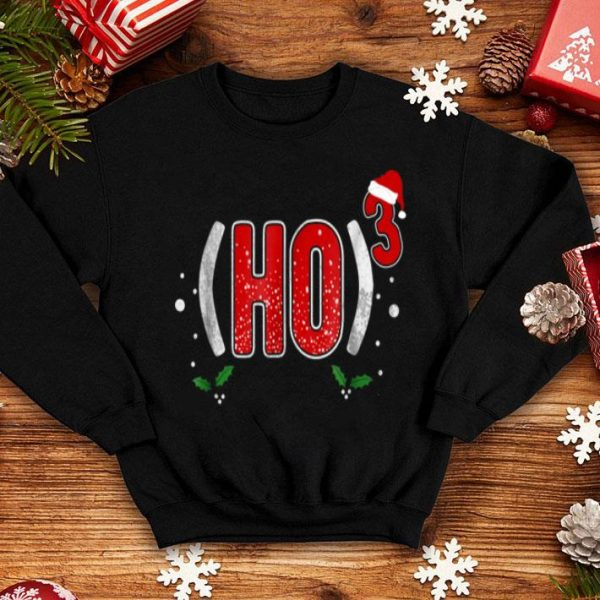 Funny Ho Cubed Christmas shirt