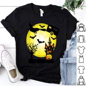 Hot Camping Witch Funny Halloween Camper shirt