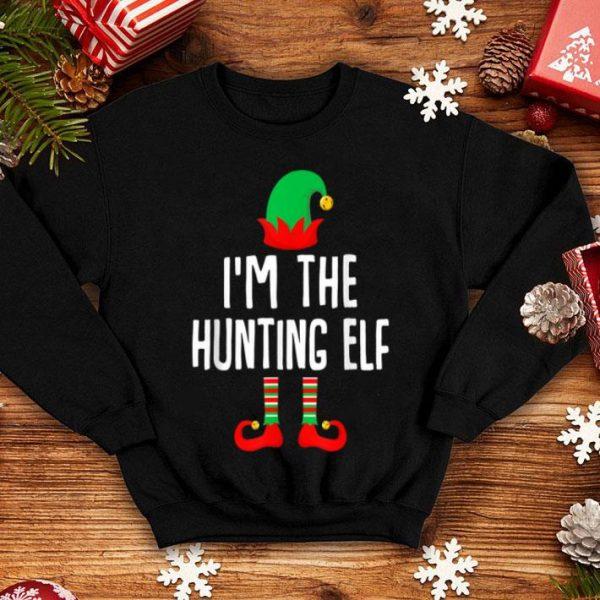 Nice I'm The Hunting Elf Matching Family Group Christmas shirt