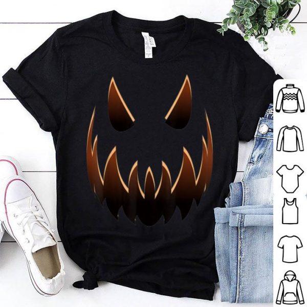 Nice Jack O' Lantern Costume Halloween Jackolantern Pumpkin Face shirt