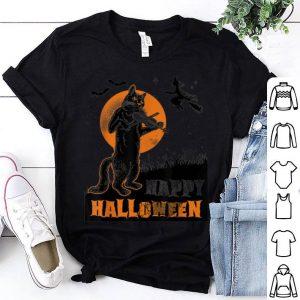 Nice Pumpkins Halloween Cat Playing Violin shirt