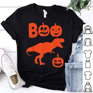 Nice T Rex Dinosaur Pumpkin Funny Halloween Costume Gifts shirt