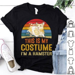 Nice This Is My Costume Hamster Vintage Halloween Gifts shirt