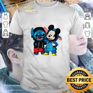Official Baby Mickey and Stitch shirt