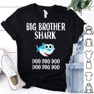 Official Brother Shark Doo Doo Halloween Christmas Boys Men shirt