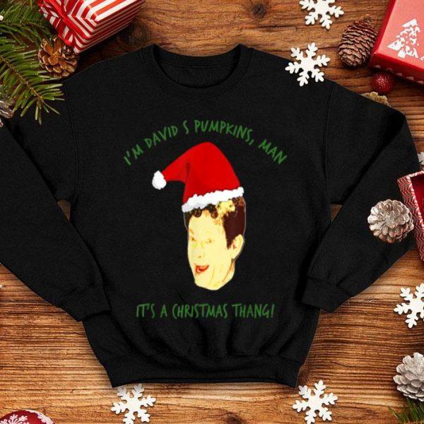 Official David S Pumpkins Christmas Thang shirt