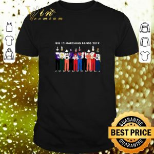 Original Big 12 Marching Band 2019 shirt