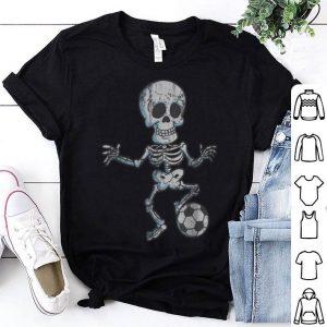 Original Halloween Soccer Skeleton Kids Boys Women shirt