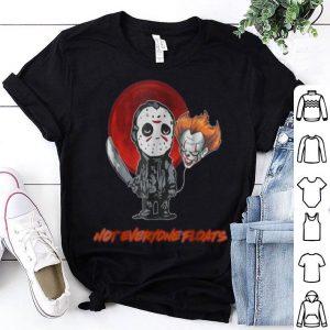Original Jason and Clown Head not everyone floats shirt