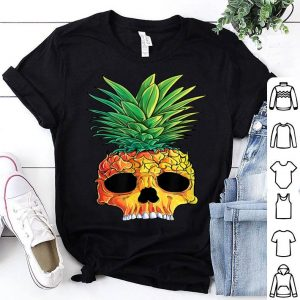 Original Pineapple Skull Aloha Beaches Hawaiian Hawaii Goth shirt