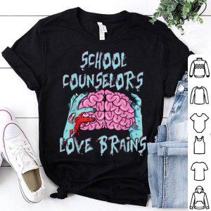 Premium Counselors Love Brains Halloween Funny Top Gift shirt