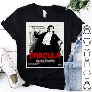 Premium Dracula Movie Art - Vintage Horror Film Poster Tee shirt