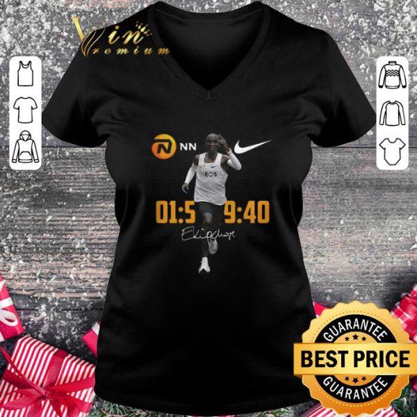 Premium Nike Eliud Kipchoge Runs Marathon Under Two Hours signature shirt