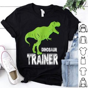 Top Dinosaur Trainer Halloween, Costume for Adults Kids shirt