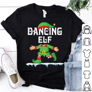Top Lovely ELF Walking Dance On Snow Dancing ELF Merry Christmas shirt