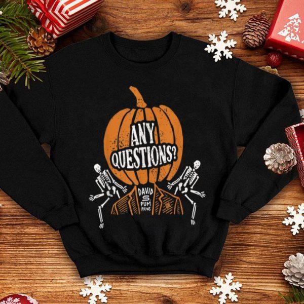 Top Saturday Night Live David S. Pumpkins Halloween shirt