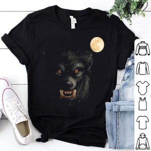 Top Scary Cool Halloween Werewolf Lychan Trick Or Treat Party shirt
