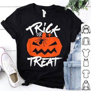 Top Trick Or Treat Jack O Lantern Pumpkin Creepy Halloween shirt
