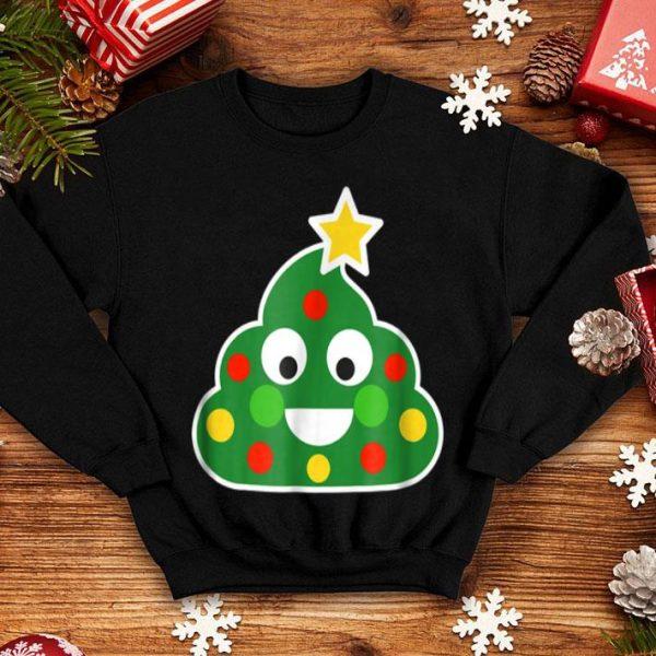 Awesome Christmas Decorations Poop Emoji Christmas Funny shirt