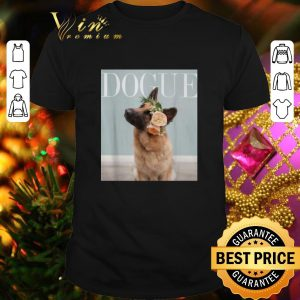 Hot German Shepherd Dogue Vogue shirt