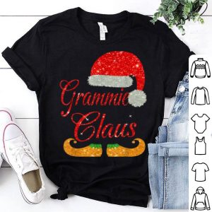 Hot Grammie Claus Matching Family Group Christmas shirt