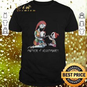 Hot Jack Skellington Sally mother of nightmares shirt