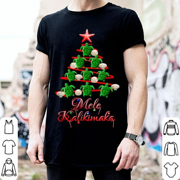 Hot Mele Kalikimaka Hawaiian Beach Christmas shirt