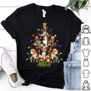 Nice Beagle Christmas Tree Santa Funny Dog Lover Gift shirt