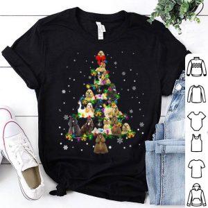 Nice Cute American Cocker Spaniel dog Christmas Tree gift decor shirt
