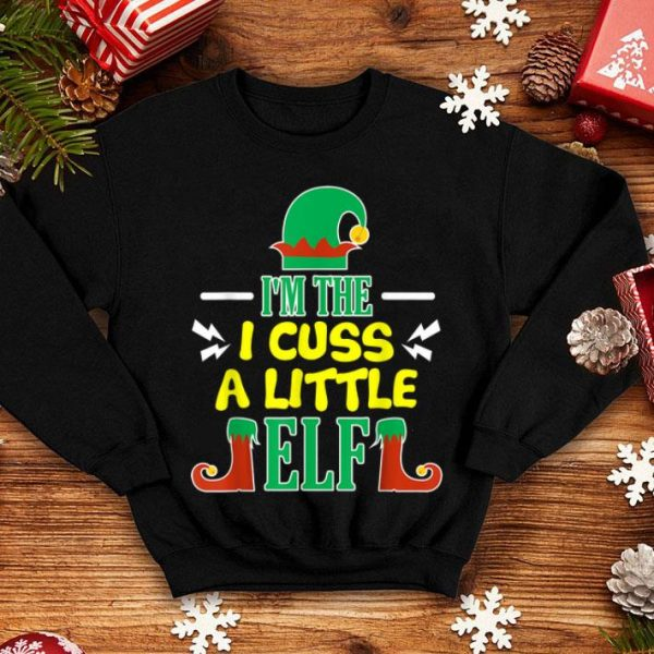 Nice Matching Family Christmas Cussing Elf Gift shirt