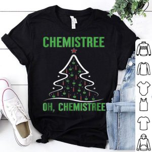 Nice Oh Chemistree Science Chemistry Teacher Christmas sweater