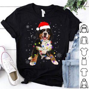 Official Bernese Mountain Dog Lights Christmas Matching Family shirt