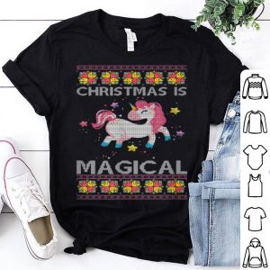 Official Christmas Is Unicorn Ugly Christmas shirt