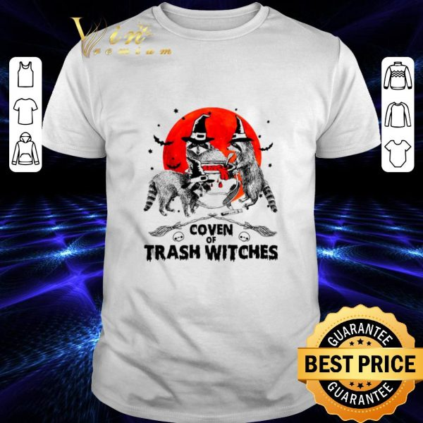 Official Sloths Coven Of Trash Witches shirt
