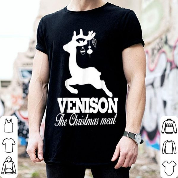 Official Venison the Christmas meat deer sweater