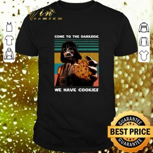 Original Darth Vader come to the darkside we have cookies vintage shirt