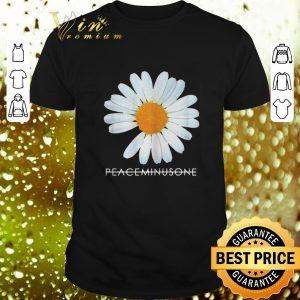 Original Peaceminusone white flower shirt