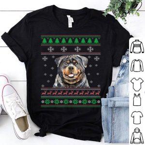 Premium Dog Lover Ugly Christmas Sweater Rottweiler Funny Xmas shirt